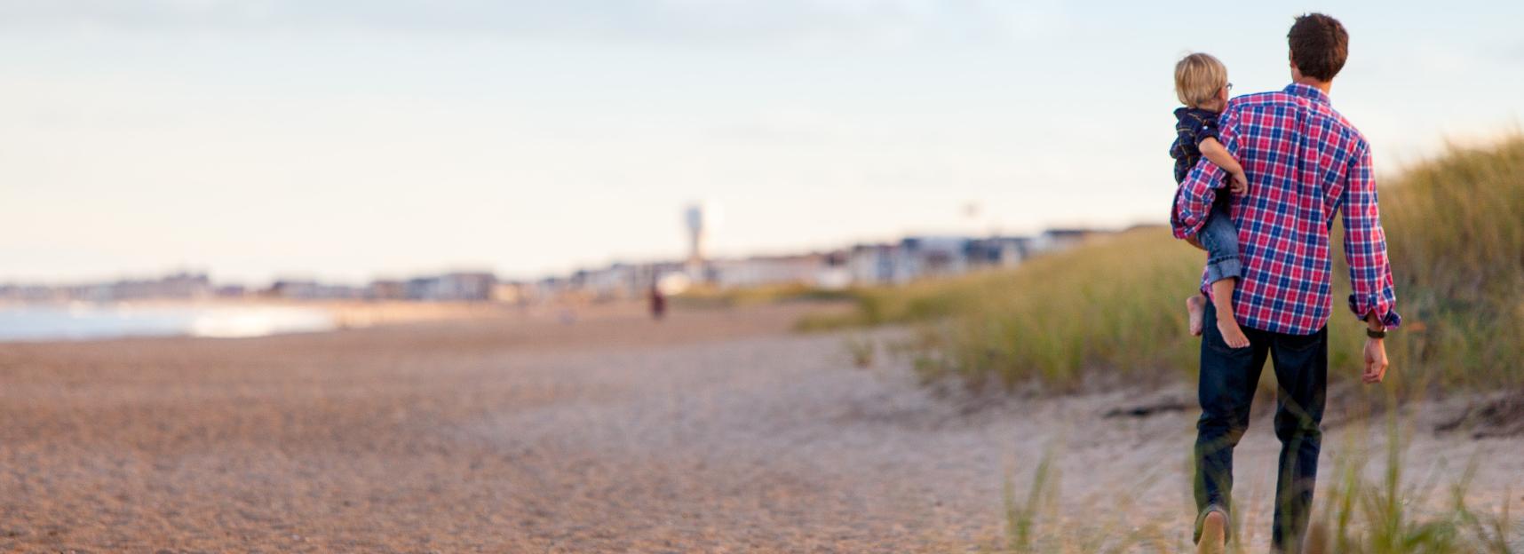 Refinance-Home-Loan-Dad-Son-New-Beach-Home-Mortgage-Loan