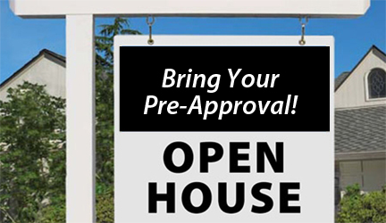 Open-House-pre approval home loan