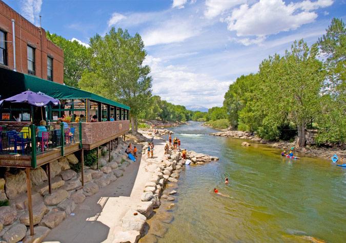 Riverfront Vacation Rental Salida CO