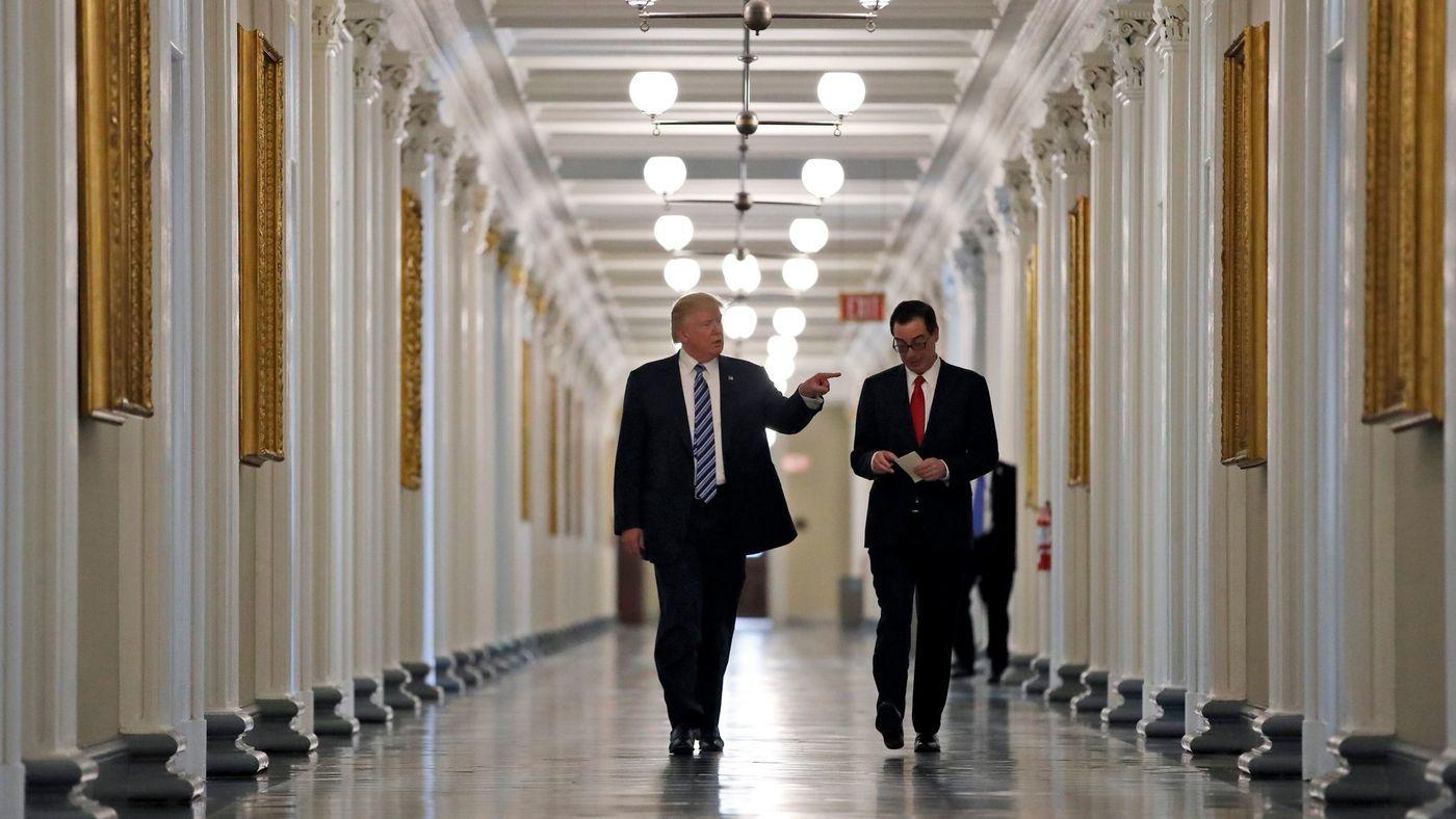 Mnuchin calls for major rollbacks of Dodd-Frank financial reforms